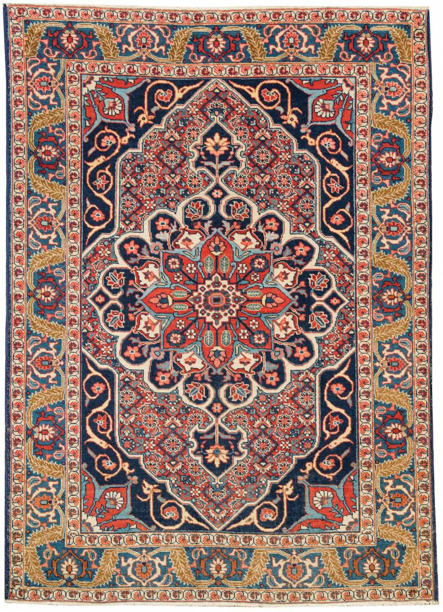 Antique Persian Tabriz 22086